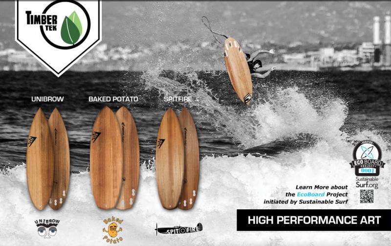 Timbertek Firewire Surfboards