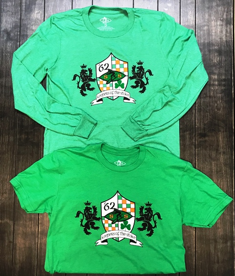 """2018 """"Keepers of the Stoke"""" St. Patrick's Tee"""