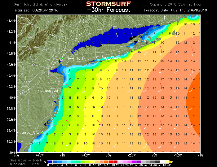 Fun Surf on Tap for Thursday!